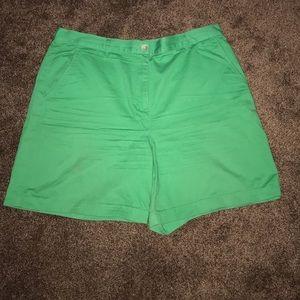 Ralph Lauren Green Bermuda Shorts
